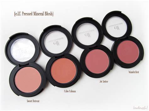 elf mineral pressed mineral blush review makeupfu
