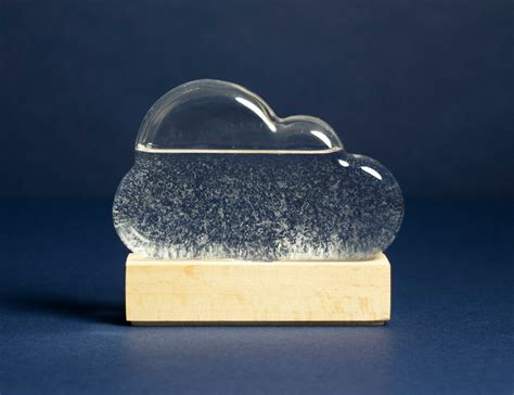 cloud weather storm predictor firebox gadget they flow housewarming throw away gifts cool check