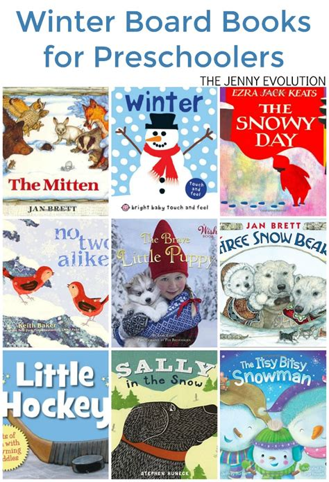 winter board books for preschoolers the evolution 572 | WINTER BOARD BOOKS