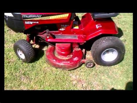 how to change blades on a 94 murray hydrostatic mower