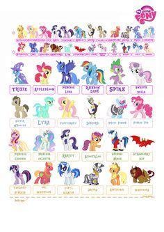 pony  printable template