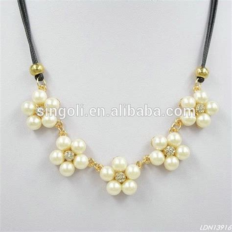 bead pendant necklace pearl bead necklace designs beautiful pearls design