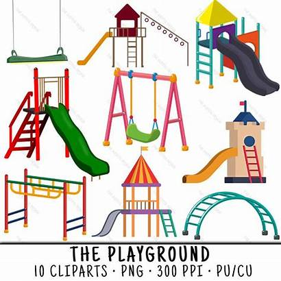 Playground Clipart Slide Clip Paper Clips Webstockreview