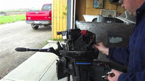 Mercury Outboard Motor Tune Up by Outboard Tune Up And Lower Leg Change