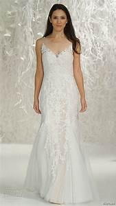 blush wedding dress with illusion neckline best wedding With blush wedding dresses 2017