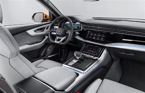 audi  interior features vehicle  report