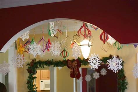 high impact  budget paper craft decorations