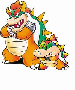 Bowser And Baby Bowser by lexi-4 on DeviantArt