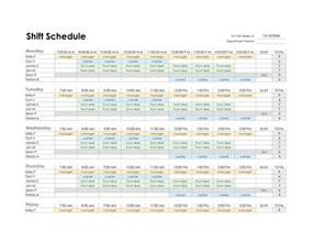 Monthly Staff Schedule Template Excel Simple Work Schedule Template Galleryhip Com The Hippest Pics