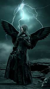 Samsung Galaxy S4 Active Wallpapers: Dark angel android ...
