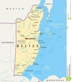 Belize Capital City Map