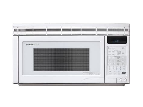 sharp 850 watts 1 1 cu ft 850w the range convection microwave r 1871 sensor cook smooth