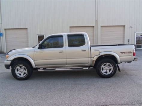 4 door toyota tacoma sell used 2001 toyota tacoma pre runner crew cab 4