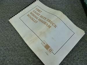 1987 Chevy Blazer Suv Electrical Wiring Diagram Manual