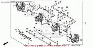 Honda Cbr900rr Fire Blade 1995 England Carburetor  Assy