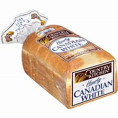 Country Kitchen Hearty Canadian White Bread, 22 Oz