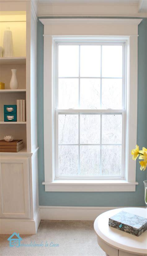 install window trim remodelando la casa