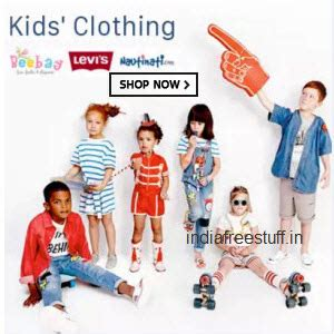 Top Brands Kids Clothing Minimum 50% Off + 30% Off From Rs