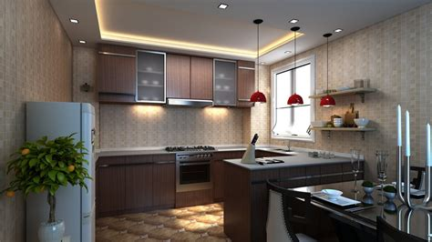 3dvisualization Kitchen Design