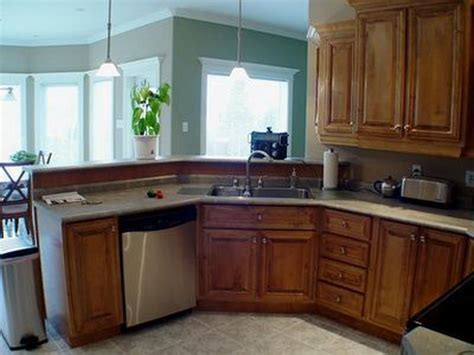 small kitchen paint colors with oak cabinets idea home bloombety simple small kitchen design with oak cabinets