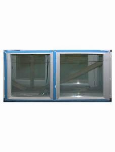 Fenetre pvc blanc double vitrage hauteur 125x140 largeur for Porte fenetre double vitrage pvc