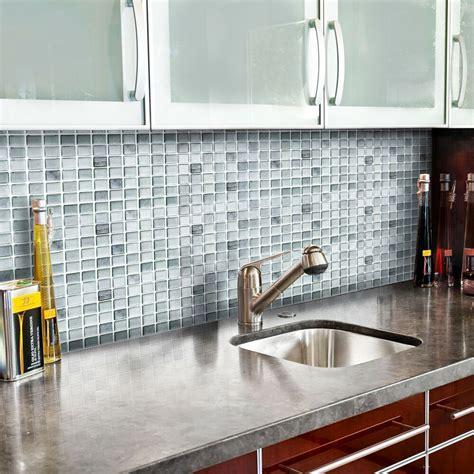 adhesive wall tiles peel  stick backsplash kitchen