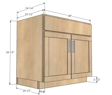 cabinet making plans free ana white build a kitchen cabinet sink base 36 full