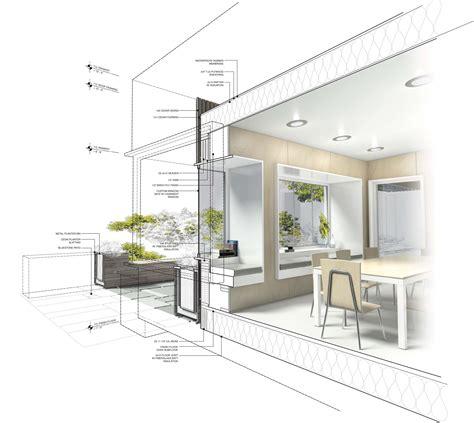 Highberg House Cut Away Rendering Vray 3d Max