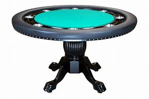 Nighthawk Round Poker Table – Welcome to Poker Tables Canada