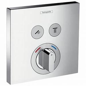 Unterputz Thermostat Dusche : hansgrohe showerselect mischer up f r 2 verbraucher 15768000 megabad ~ Frokenaadalensverden.com Haus und Dekorationen