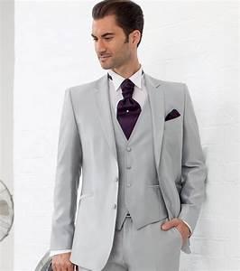 Costume 3 Pièces Gris : photo costume 3 pi ces gris clair ~ Dallasstarsshop.com Idées de Décoration