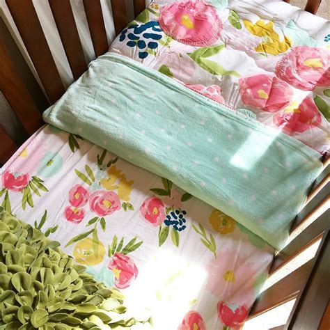 Whatever you're shopping for, we've got it. Fitted Crib Sheet Floral - Cloud Island - Pink : Target   Nursery wall decor girl, Mint nursery ...