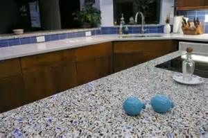 are recycled glass countertops a granite alternative