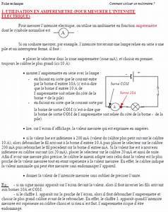 Comment Utiliser Un Multimetre : comment utiliser un multim tre site du coll ge jules ~ Premium-room.com Idées de Décoration