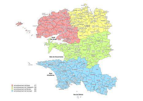 finistere la nouvelle carte des intercommunalites