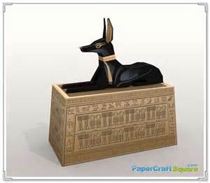 Ancient Egypt Anubis Papercraft