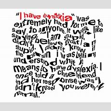 """i Have Dyslexia""  Ligature Journal"