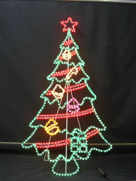 christmas light tree designs rope light hubpages