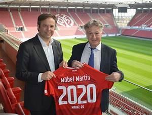 Möbel Martin Mainz : m bel martin bleibt mainz 05 treu ~ Frokenaadalensverden.com Haus und Dekorationen
