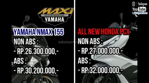 Nmax 2018 Vs All New Pcx by Duel Yamaha Nmax 155 2018 Vs All New Honda Pcx 150