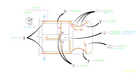 Subaru Forester Harness Rear Wiring Main Electrical