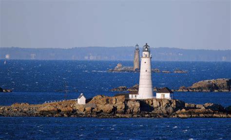 harbor lights lighthouses lighthouses of boston harbor aroundustyroads