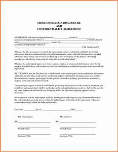 7 generic non disclosure agreement template purchase for Generic nda template