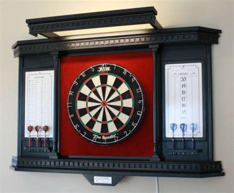 snyper games custom dartboard cabinet kc  lh ebay