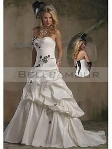 Robe De Mariée Moderne : robe de mari e moderne longue taffetas a ligne col en coeur ~ Melissatoandfro.com Idées de Décoration