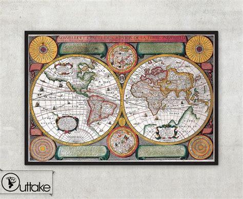 Carte Du Monde à Imprimer A3 by Les 25 Meilleures Id 233 Es De La Cat 233 Gorie Carte Murale Du