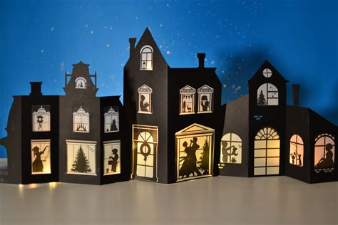 silhouette christmas craft book   printable