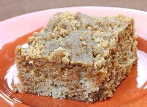 inspiredcookcom apple coffee cake  crumble topping