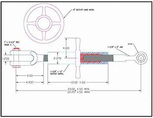 Baler Side Wheel Turnbuckle