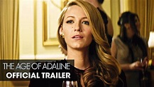 The Age of Adaline (2015 Movie) – Official Trailer - Blake ...